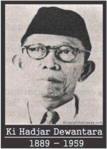 Biografi Singkat Pahlawan Nasional Ki Hadjar Dewantara