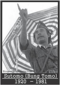 Biodata Pahlawan Nasional Bung Tomo