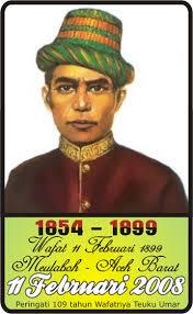 Biografi Pahlawan Nasional Teuku Umar Asal Aceh
