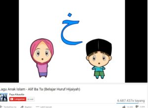Channel Youtubr video anak muslim