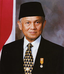 Biografi Presiden Indonesia ke-3 Bacharuddin Jusuf Habibie