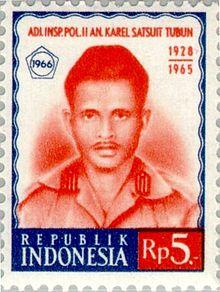 Pahlawan Revolusi Indonesia Karel Satsuit Tubun