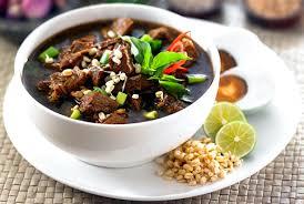 rawon masakan lezat indonesia