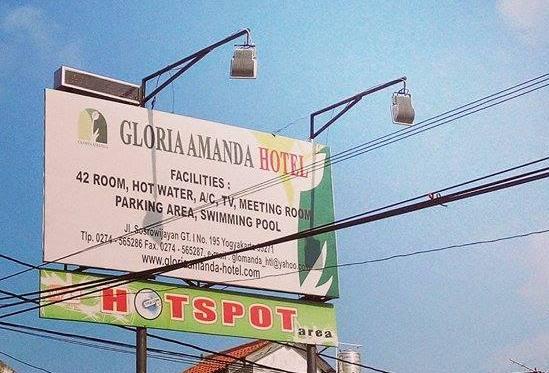 Review Hotel Gloria Amanda Sosrowijayan Yogyakarta