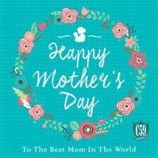 Desain Kartu Ucapan Untuk Hari Ibu Warna Hijau muda
