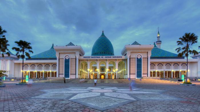 masjid besar di Indonesia al-akbar-surabaya