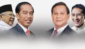 Joko Widodo - Ma'ruf Amien Prabowo Sandiaga Uno