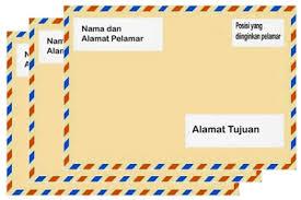 Contoh Cara Penulisan Amplop Surat Lamaran Kerja Yang Benar Official Website Initu Id