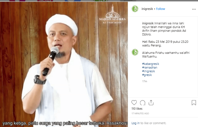 Biografi Singkat Ustadz Muhammad Arifin Ilham Pimpinan Az Zikra