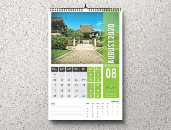 Desain Kalender Liburan dan Cuti Bersama 2020