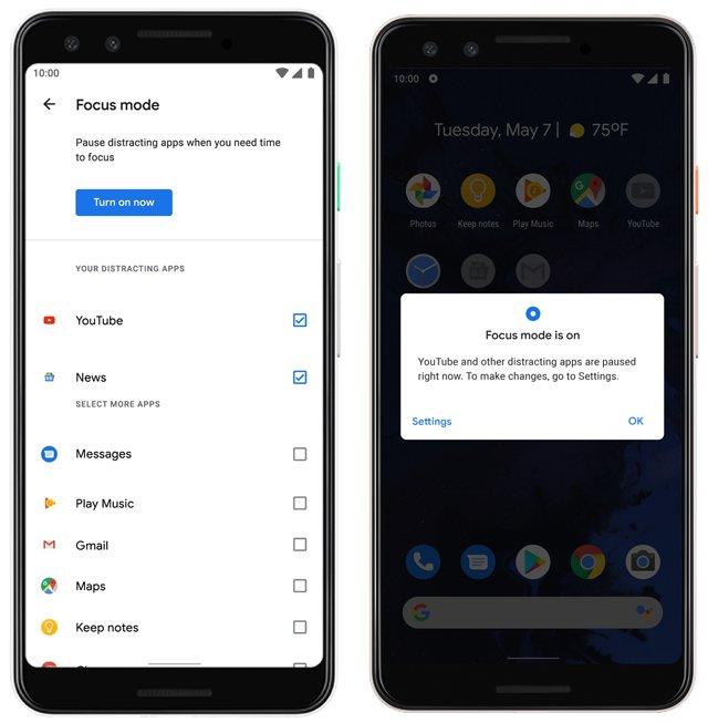 Cara Menggunakan Fitur Focus Mode Android 10