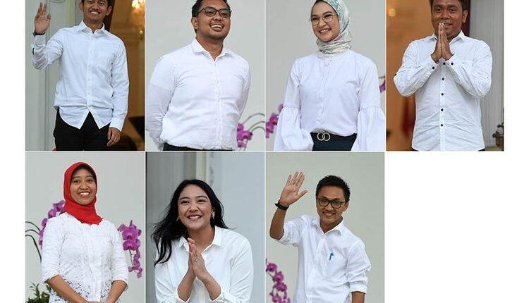 Profil Singkat Tujuh Milenial Staf Khusus Presiden Indonesia