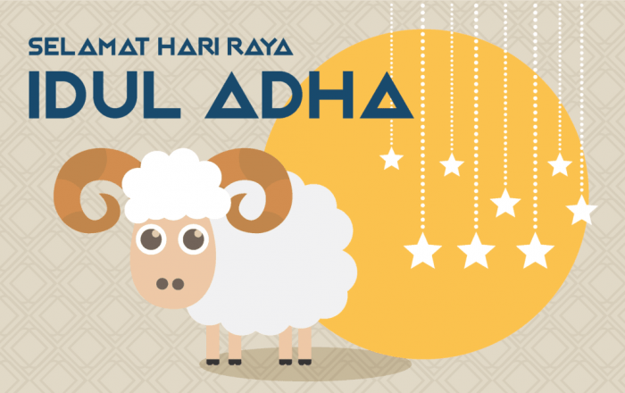 Ucapan Idul Adha Kartun