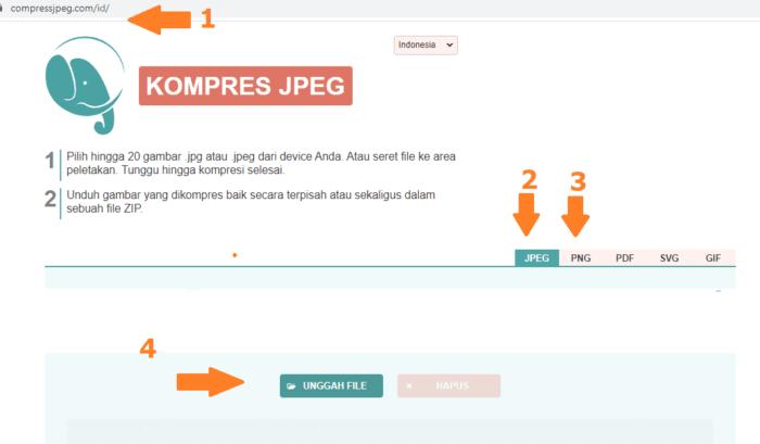 Tutorial Cara Memperkecil Ukuran Gambar Agar Website Lebih Ringan